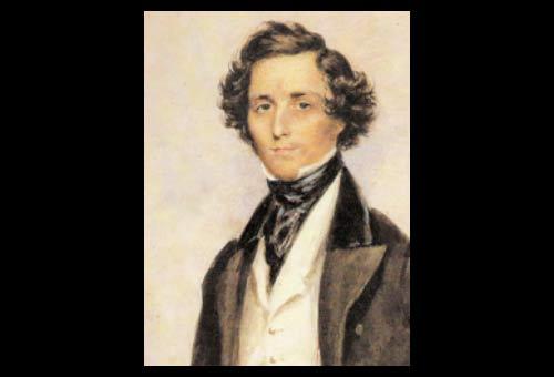 Felix Mendelssohn Bartholdy, by James Warren Childe