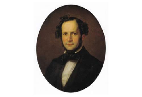 Paul Mendelssohn-Bartholdy, by Eduard Magnus