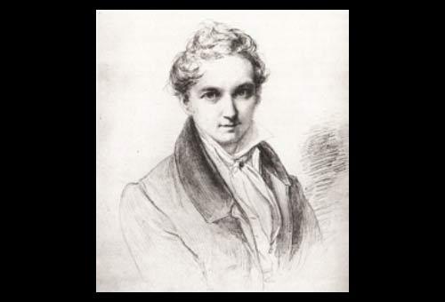 Wilhelm Hensel, self portrait