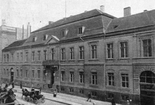 Mendelssohn Bartholdy family home at Leipzigerstrasse 3, Berlin