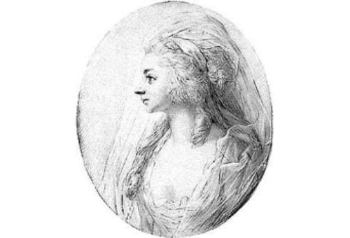 Sara Levy, by Anton Graff