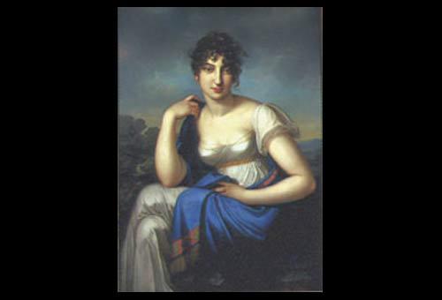 Amalia Beer, Sara's friend, by Johann Karl Kretschmar